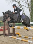 Image 4 in DEBEN RIDING CLUB XMAS SHOW JUMPING. CLASS 4