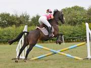 Image 2 in ABI AND BECKY. SHOW JUMPING. 19 AUGUST 2018
