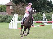 Image 28 in ABI AND BECKY. SHOW JUMPING. 19 AUGUST 2018
