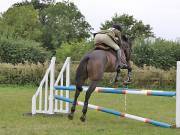 Image 4 in ABI AND BECKY. SHOW JUMPING. 19 AUGUST 2018