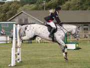 Image 12 in SOUTH NORFOLK PONY CLUB. ODE. 16 SEPT. 2018 THE GALLERY COMPRISES SHOW JUMPING, 60 70 AND 80, FOLLOWED BY 90 AND 100 IN THE CROSS COUNTRY PHASE.  GALLERY COMPLETE.