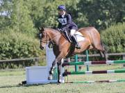 Image 3 in SOUTH NORFOLK PONY CLUB. ODE. 16 SEPT. 2018 THE GALLERY COMPRISES SHOW JUMPING, 60 70 AND 80, FOLLOWED BY 90 AND 100 IN THE CROSS COUNTRY PHASE.  GALLERY COMPLETE.