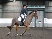 NEWTON HALL EQUITATION. DRESSAGE. 2ND DECEMBER 2018.