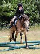 Image 16 in SOUTH NORFOLK PONY CLUB 28 JULY 2018. FROM THE SHOW JUMPING CLASSES.