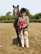 SUFFOLK RIDING CLUB. ANNUAL SHOW. 4 AUGUST 2018. THE ROSETTES.
